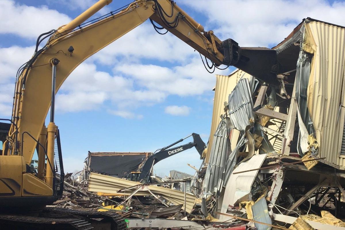 House Demolition In Christchurch
