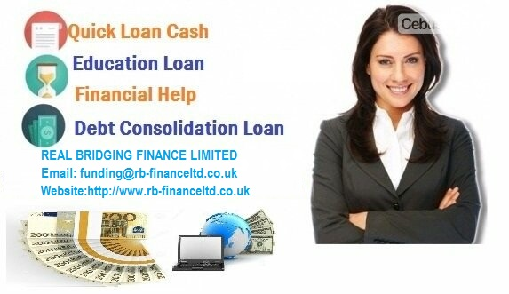 Loans and international Financing available