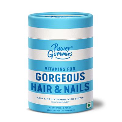 Power Gummies – Gorgeous Hair & Nails