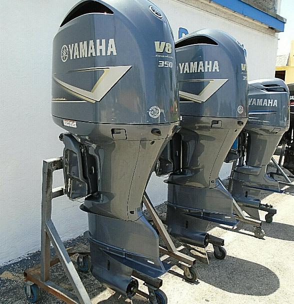 Slightly Used Yamaha 350HP 4 Stroke Outboard Motor Engine