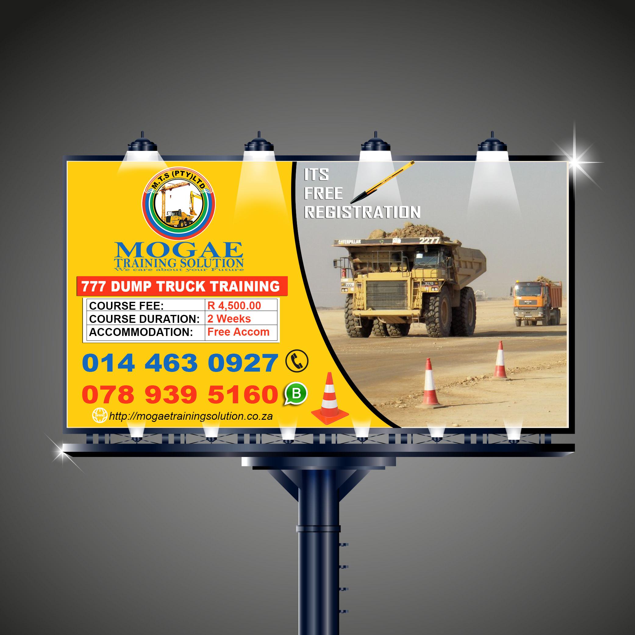 777 Dump Truck Training in Kimberley 0712613657