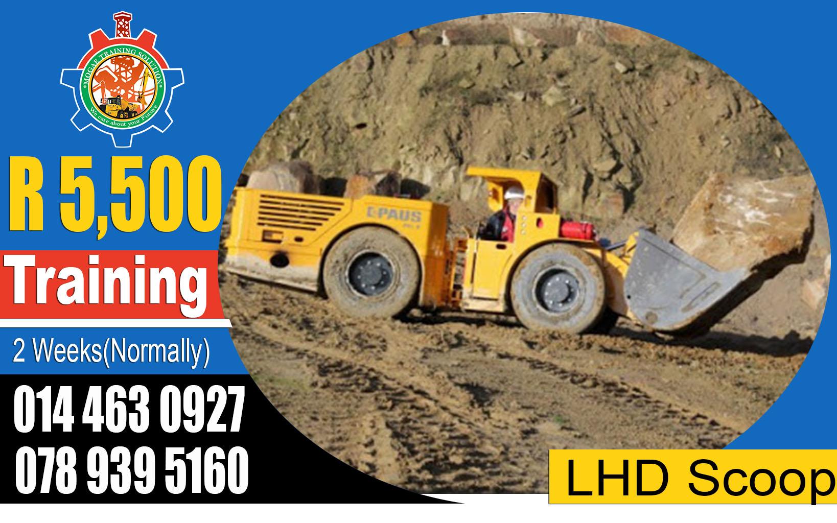 LHD Scoop Training in Mafikeng 0712613657