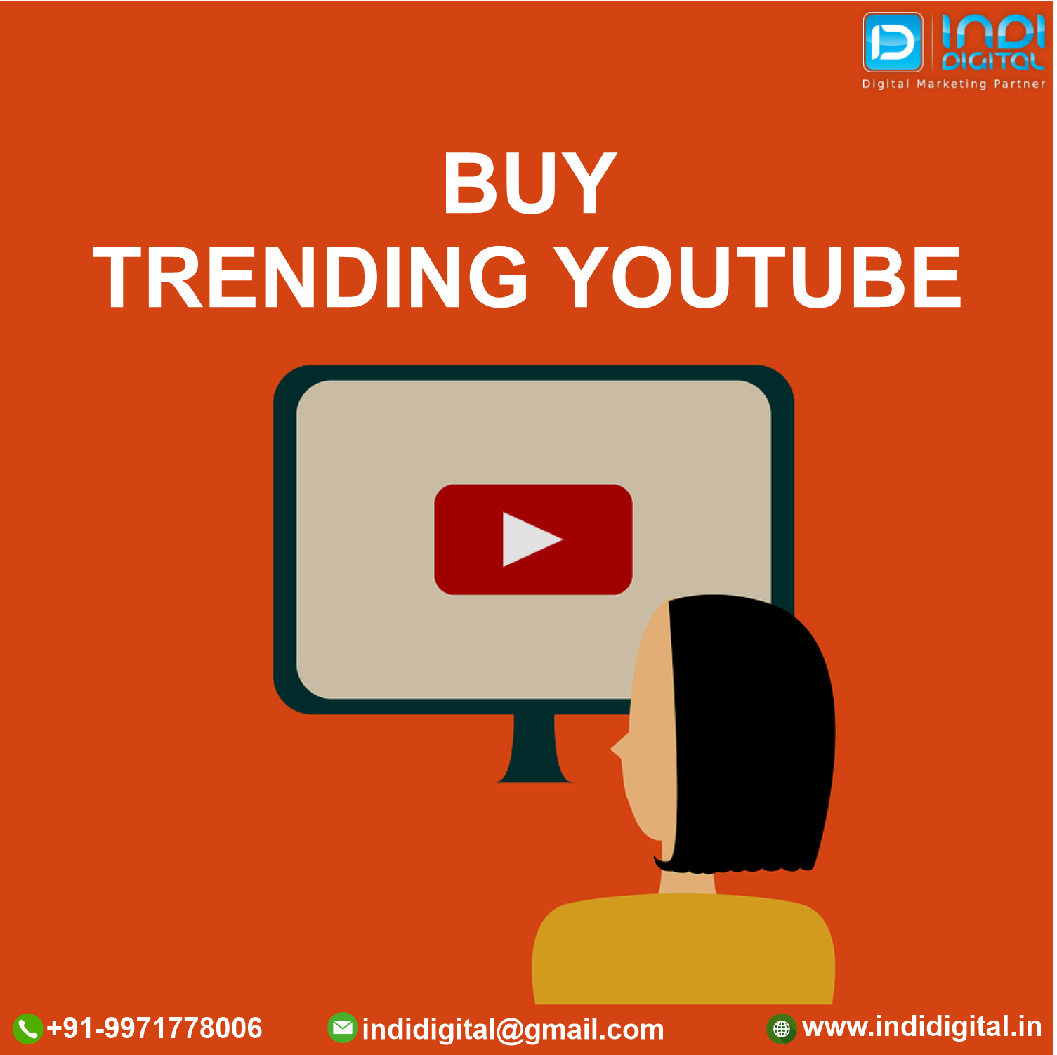 Get the best YouTube trending service in India