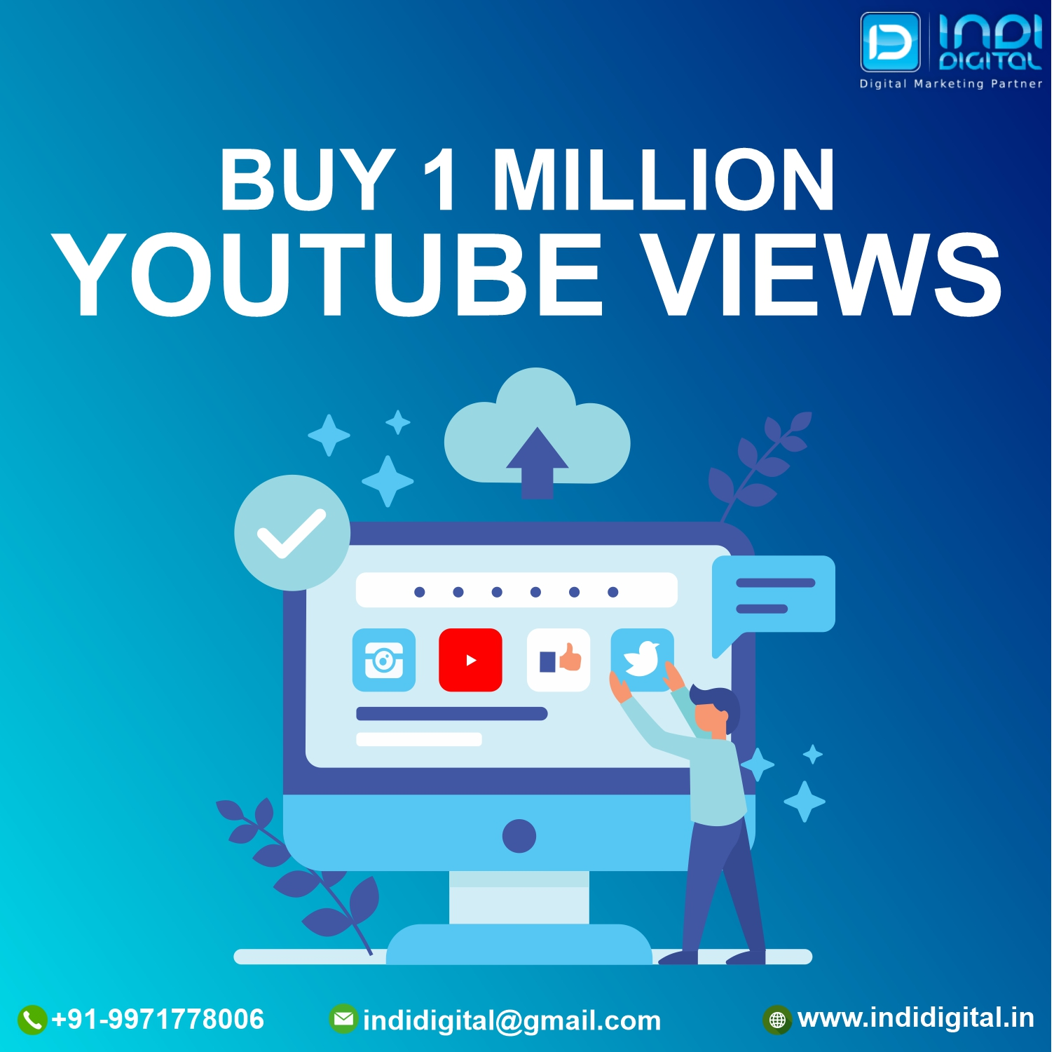 Buy 1 Million Youtube Views To Go Viral on YouTube